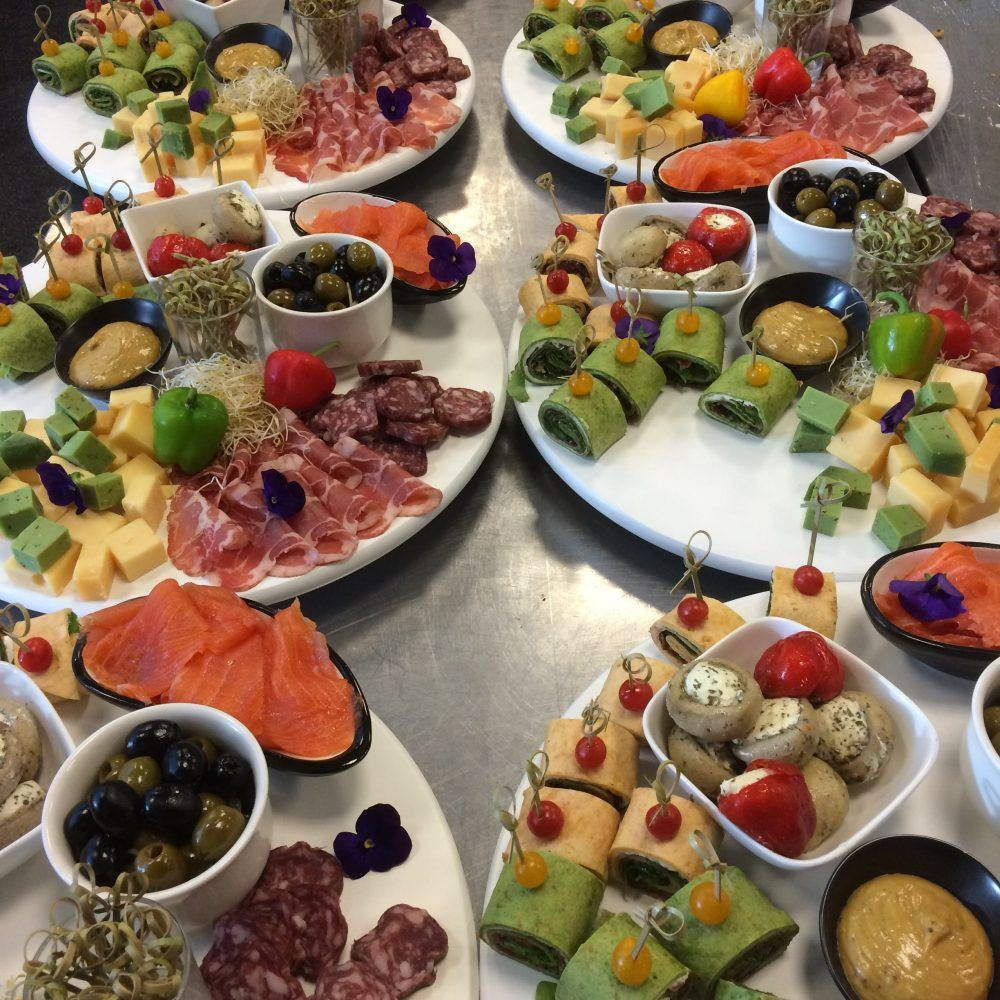 stern catering tapas plateau