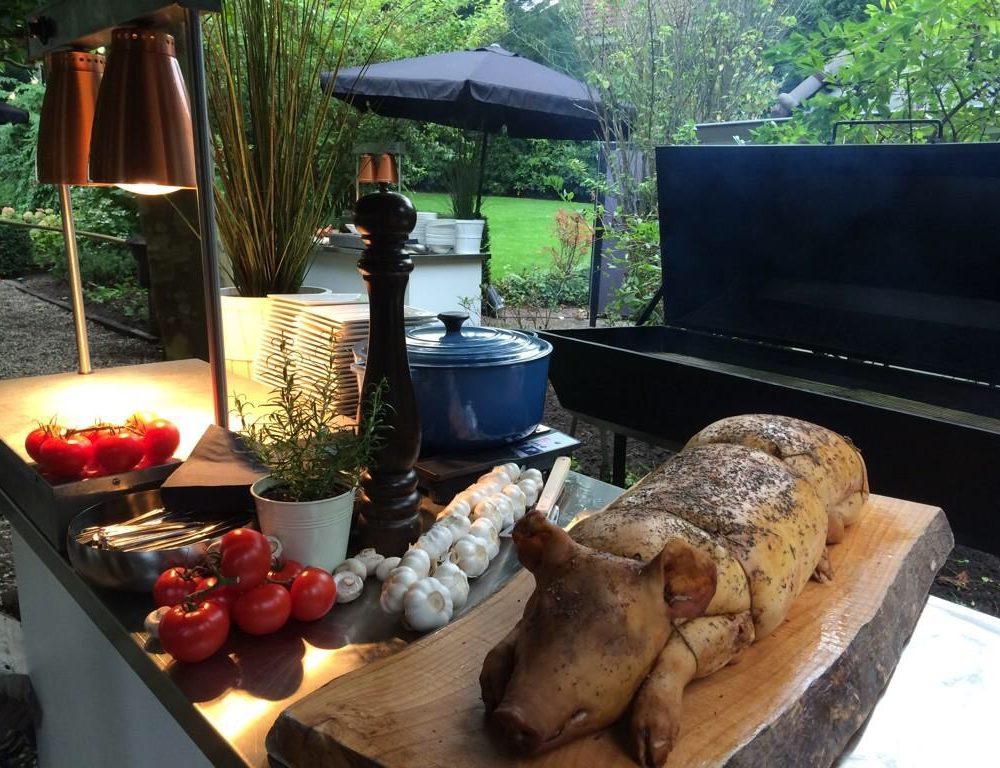 Stern Catering Speenvarken BBQ tuinfeest